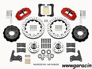 Wilwood Forged Narrow Superlite 6r Front Brake Kit Fits Fury12.88drilled Rotor