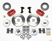 Wilwood Dynapro Dustboot Front Brake Kit Fits Ford Mustang Ii, Pinto,140-13377