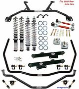 Qa1 Handling Level 3 Suspension Kit-fits 1996-2004 Ford Mustang Solid Rear Axle