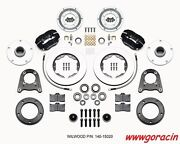 Wilwood Forged Dynalite Pro Series Front Brake Kit Fits 1950-1955 Mg Tdtf