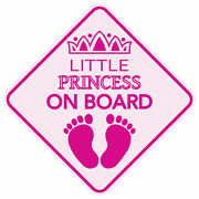 Magnet Reflective Little Princess On Board Baby Child Car Usa Buy 2get 1 Free