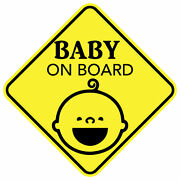 Baby On Board Smile Sticker Decal Child Car Vinyl Made In Usa Buy 2 Get 3rd Free