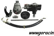 Borgeson Power Steering Conversion Kit Fits 1965-1982 Corvette With Manual Sbc