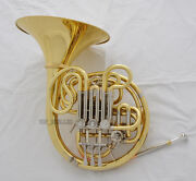 Professional Gold 103 Mode Double French Horn F/bb With Case
