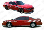 Chevrolet Monte Carlo 2000-2007 Pace Car Racing Checkered Stripes Choose Color