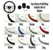 New World Motoring Muscle Car Steering Wheel - Black Billet, Your Choice Of C...