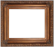 6 Wide Gold Leaf Ornate Antique Family Oil Painting Wood Picture Frame 9202dg