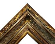 5.5 Wide Dark Bronze Antique Photo Family Oil Painting Wood Picture Frame 668d
