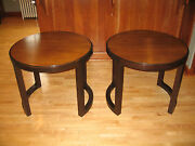 Pair Of Dunbar End Tables Designed By Edward Wormley