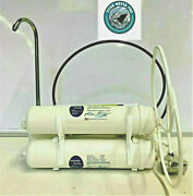 Heavy Duty Countertop Reverse Osmosis Water Filters 4 Stages - Inline - 100 Gpd