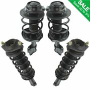Loaded Quick Complete Strut Spring Mount Assembly Front Rear Kit Set 4pc New