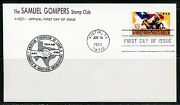 United States Samuel Gompers Stamp Club 1995 Texas Statehood First Day Cover