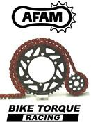 Honda Cr250 R 1986 Afam Upgrade Red Chain And Sprocket Kit
