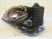 12 Circuit Xl Universal Wire Harness 16 Ft Wires 14 Fuse 12v Extra Large Kit Hot