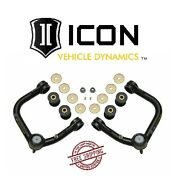 Icon Delta Joint Tubular Upper Control Arm Kit For 05-21 Toyota Tacoma