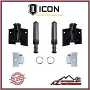 Icon Rear Hydraulic Air Bump Stop System For 05-21 Toyota Tacoma 56103