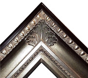 4.25 Fancy Silver Leaf Ornate Oil Painting Wood Picture Frame 650s 30x40 36x48