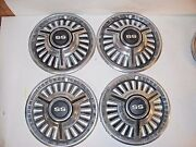 Vintage 1960and039s 14 Chevy Ss Wheel Covers / Hub Caps - Set Of 4 Good Condition L3