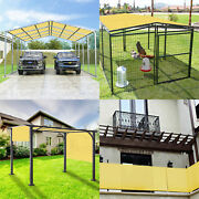 24and039 Ft Waterproof Straight Side Hemmed Sun Shade Sai Canopy Awning Patio Cover