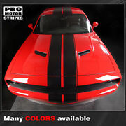 Dodge Challenger Top Double Stripes Decals Pinstriping 2008 2009 2010 Pro Motor