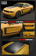 Ford Mustang Boss 302 Style Hood And Side C-stripes Decals 2010 2011 2012 Pro Moto