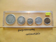 1906 Silver Birth Year Set 5 Coins  Other Years Also