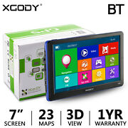886 7 Gps With Lifetime Maps And Bluetooth Fm Av-in Mp3 Mp4 Function
