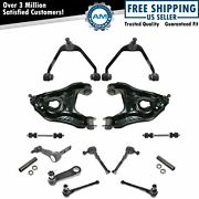 14 Piece Steering And Suspension Kit Control Arms Ball Joints Tie Rods 2wd