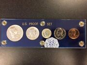 1959 Silver United States Mint Proof Set In Capital Holder