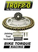 Mv Agusta 750 S Brutale 04-05 Trofeo 520 Pitch Chain And Sprocket Kit + Tool