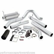 Banks Monster 4 Exhaust And Power Elbow 00-03 Excursion 7.3 - Black Tip