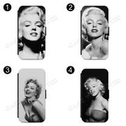 Marilyn Monroe Famous Stylish Glamour Flip Case Cover For Iphone Samsung Galaxy