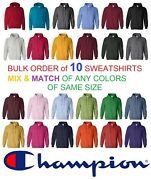 New Champion S700 Double Dry Eco Pullover C Hooded Sweatshirt Bulk Lot Wholesale