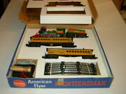 American Flyer Box Inserts Only No Trains For Frontiersman Set 20550
