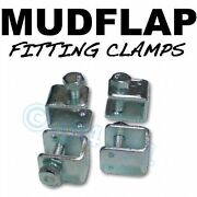 Mudflap Mud Flap Fitting Fixing U Clamps X 4 Ford