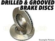 Drilled And Grooved Front Brake Discs For Subaru Legacy Ii Bd, Bg 1.8 Awd 1996-98