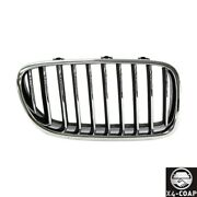 New Front,right Passenger Side Grille For Bmw 5 Series 51137203204