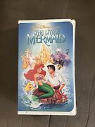 The Little Mermaid Vhs W/ Banned Cover Art