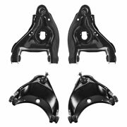 Front Upper Lower Control Arm Ball Joint Suspension Kit Set 4pc 2wd New