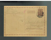 1942 Germany Theresienstadt Jewish Ghetto Postcard Letter Cover Vaclav Proz