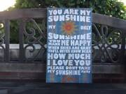 You Are My Sunshine Custom Canvas Personalize For Free Sweet Gift Idea