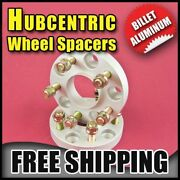 38mm 1.5 | Silver Hubcentric Wheel Adapters Chrysler 5x139.7 | 78.1 9/16 Unf