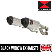 V-max Vmax 1200 Vmax1200 Vmx Exhaust Silencer Kit 200mm Oval Steel/carbon 200st