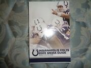 2009 Indianapolis Colts Media Guide Yearbook 2010 Super Bowl Peyton Manning Ad