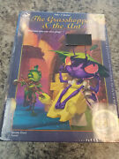 The Grasshopper And The Ant - Iello Tales And Games Book And Board Game New
