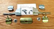 1955 56 57 Chevy Windshield Molding Clip Set Complete With Corner Clips Usa Made