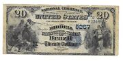 20.1900 Riddell National Bank Of Brazil Indiana Note Bill Ch. 5267