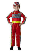 Fancy Dress Costume Boys Cars 3 Dlx Racing Mcqueen Childs Ages 3-8 Years