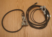 1957 Chevy Battery Cables Correct Original Style 6 Cyl Usa Made