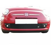 Zunsport Black Front Lower Grille For Fiat 500 2007- Zft37607b